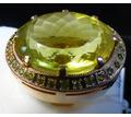 Кольцо золото цитрин авторская работа - Подарки, сувениры в Сочи