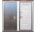 Входная дверь Версаль 1,8 мм Альберо браш белый 90 мм Россия : - Двери входные в Краснодаре