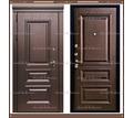 Входная дверь Глория Дуб шоколад / Дуб шоколад 100 мм Россия : - Двери входные в Краснодаре