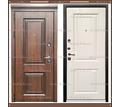 Входная дверь Виктория винорит NUSSBAUM Дуб Патина чёрная / Альберо браш браун 112 мм Россия : - Двери входные в Краснодаре