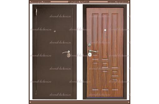 Входная дверь XL Мини 1900 х 860 Тёмный орех  Россия, фото — «Реклама Краснодара»