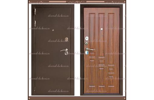 Входная дверь XL 2200*960 Тёмный орех  Россия, фото — «Реклама Краснодара»