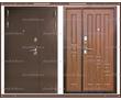 Входная дверь XL 2050 х 1200 Тёмный орех  Россия, фото — «Реклама Краснодара»