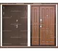 Входная дверь XL 2050 х 1300 Тёмный орех  Россия - Двери входные в Краснодаре