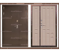 Входная дверь XL 1200 х 2200 Белёный дуб Россия - Двери входные в Краснодаре