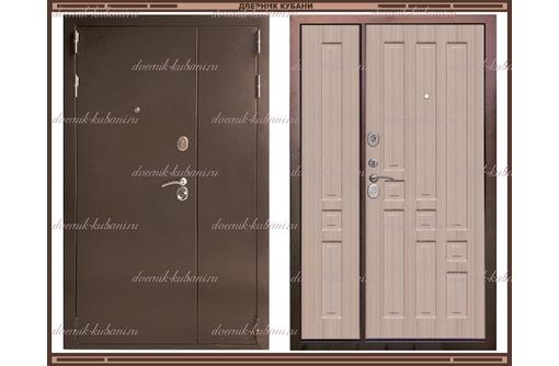 Входная дверь XL 1300 х 2200 Белёный дуб Россия, фото — «Реклама Краснодара»