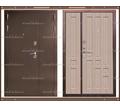 Входная дверь XL 1300 х 2200 Белёный дуб Россия - Двери входные в Краснодаре