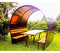 Беседка летняя с лавками - Садовая мебель и декор в Тихорецке