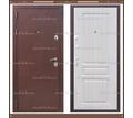 Входная дверь Консул 1,8 мм Медный антик / Белёный дуб 100 мм. Россия : - Двери входные в Краснодаре