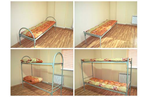 Кровати металлические для рабочих, общежитий, для комплектации бытовок, фото — «Реклама Хадыженска»