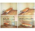 Кровати металлические для рабочих, общежитий, для комплектации бытовок - Мебель для спальни в Хадыженске