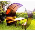 Беседка летняя с лавками  и столом - Ландшафтный дизайн в Тихорецке