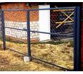 Ворота металлические с сеткой - Металл, металлоизделия в Кореновске