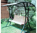 Качели металлические с деревянным сиденьем - Ландшафтный дизайн в Кореновске