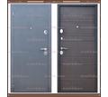Входная дверь Сити Чёрный муар / Венге 80 мм. Россия : - Двери входные в Кубани