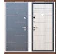 Входная дверь Сити Чёрный муар / Сосна Прованс 80 мм. Россия : - Двери входные в Кубани