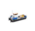 Самоходный плавучий кран с КМУ Soosan SCS736LII - Продажа в Кубани