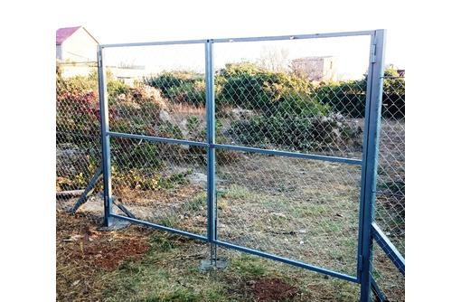 Ворота металлические с доставкой по городу, фото — «Реклама Тихорецка»