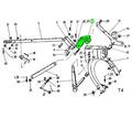 Кованая головка навесной рамы роторной косилки - Сельхоз техника в Кубани
