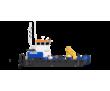Понтонный буксир - кран с КМУ SCS746L, фото — «Реклама Анапы»