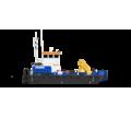 Понтонный буксир - кран с КМУ SCS746L - Продажа в Анапе