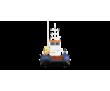 Понтонный буксир - кран с КМУ SOOSAN 736, фото — «Реклама Краснодара»