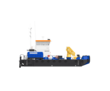 Понтонный буксир - кран с КМУ Soosan SCS736LII, фото — «Реклама Краснодара»