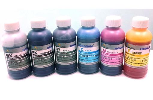 Комплект чернил Hongsam DCtec для плоттера HP DesignJet T610, T620, T770, T790, T795, фото — «Реклама Геленджика»
