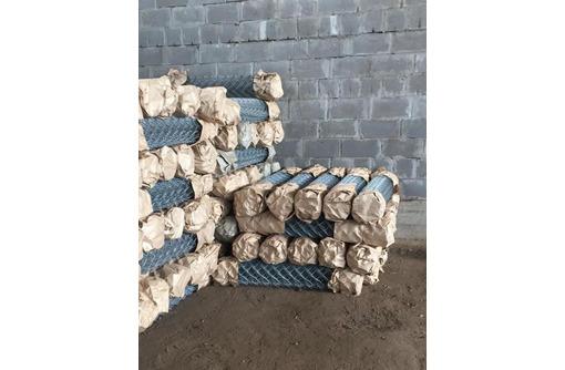 Сетка-рабица оцинкованная, прочная, фото — «Реклама Ейска»