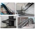 лестницы изготовление и монтаж из металла - Лестницы в Краснодаре