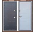 Входная дверь Стела Серый букле / Белое дерево 85 мм. Россия : - Двери входные в Кубани