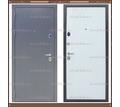Входная дверь Торино Тёмно-серый букле / Роял Вуд Арктик 100 мм. Россия : - Двери входные в Краснодаре