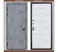!!! АКЦИЯ !!! Входная дверь Титан Бетон / Белый 100 мм Россия : - Двери входные в Краснодаре