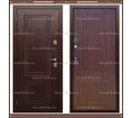 Входная дверь Триера-32 Дуб тёмный 100 мм с терморазрывом: - Двери входные в Краснодаре