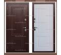 Входная дверь Триера-32 Дуб белёный 100 мм с терморазрывом: - Двери входные в Краснодаре