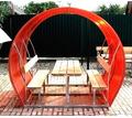 Беседки дачные с металлическим каркасом Апшеронск - Ландшафтный дизайн в Кубани