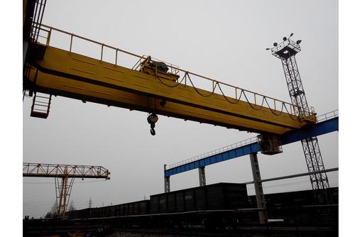 Мостовой грузоподъемный кран 32/5 тн., пролет 28,5 м., б/у, фото — «Реклама Ейска»
