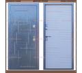 Входная дверь Триера-25 Софт Айс 100 мм с терморазрывом: - Двери входные в Краснодаре