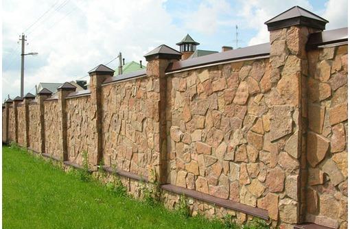 Строительство заборов в Сочи, фото — «Реклама Сочи»