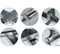 Профиль для гипсокартона направляющий ЕП (0,5мм), 27*28, 3м - Отделочные материалы в Кубани