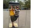 кабина уличного душа с баком и насадкой, фото — «Реклама Усть-Лабинска»