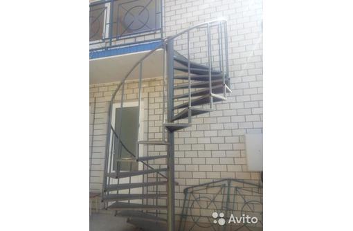 уличная Винтовая лестница, фото — «Реклама Анапы»