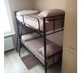 Кровати на металлокаркасе, двухъярусные, односпальные для хостелов, гостиниц, рабочих, - Мебель для спальни в Кубани