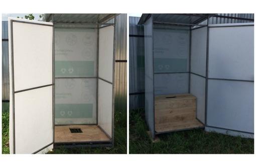 Кабина дачного туалета новый, фото — «Реклама Приморско-Ахтарска»