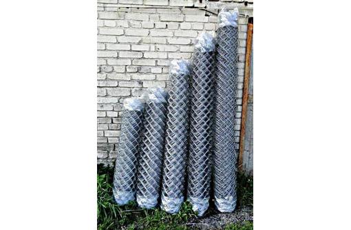 Прочная оцинкованная сетка рабица, фото — «Реклама Новокубанска»