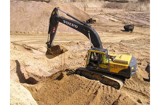 Песок карьерный чистый мытый(фр.0-5,0-8), фото — «Реклама Краснодара»