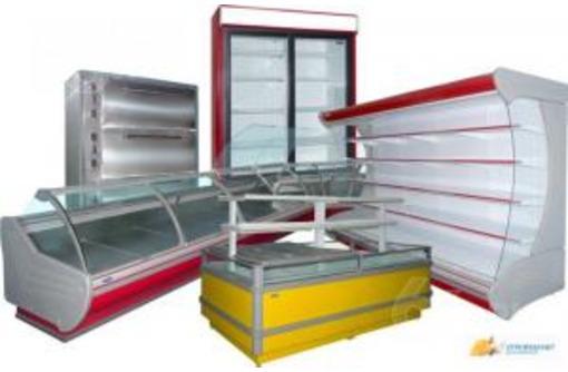Холодильные витрины с встроенным холодом, фото — «Реклама Краснодара»