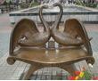 Скамейки и лавочки скульптурные,креативные из металла., фото — «Реклама Белореченска»