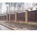 Забор деревянный сосна, лиственница. Собственное производство. - Заборы, ворота в Краснодаре