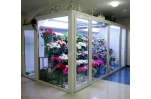 Холодильная камера для цветов со стекло-пакетом, фото — «Реклама Краснодара»